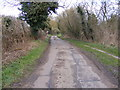 TM3258 : Ford Road, Marlesford by Adrian Cable