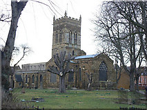SP7560 : St Giles Parish Church by Alan Murray-Rust