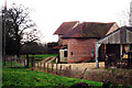 TQ8447 : Unconverted Oast House at Stonehall Farm, Crumps Lane, Ulcombe, Kent by Oast House Archive