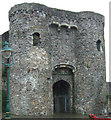 SN4119 : Carmarthen Castle Gatehouse by Mick Heraty