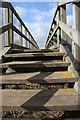 TL4482 : Footbridge over the Counter Drain by Bob Jones
