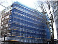 TQ2778 : Scaffolding Nell Gwynn House, Chelsea by PAUL FARMER