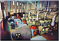 TA2710 : Grimsby Ice Factory - Compressor Room by David Vinter