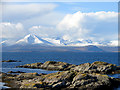 NG7630 : Foreshore rocks at Sgeirean an Uisge Ghlais : Week 9