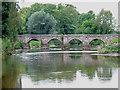SJ9922 : The Essex Bridge at Shugborough, Staffordshire by Roger  Kidd