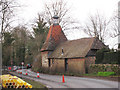 SU8135 : Oast House at Wey House, Standford Lane, Headley, Hampshire by Oast House Archive