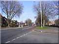 TQ4585 : A124 Longbridge Road, Faircross, Barking by Adrian Cable