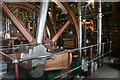 SK5806 : Beam engines, Abbey Pumping Station, Leicester by Chris Allen