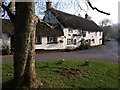 """Dist:0.1km<br/>The pub, seen here from the grassy island shown in [[581490]], has """"C17 origins"""" - see http://www.imagesofengland.org.uk/Details/Default.aspx?id=85840&mode=adv ."""