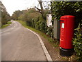 SU1304 : Ashley: postbox № BH24 49, Hurn Road by Chris Downer