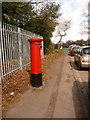 SU0905 : Woolsbridge: postbox № BH21 123, Old Barn Farm Road by Chris Downer