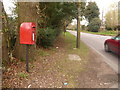 SU0606 : Horton Heath: postbox № BH21 28 by Chris Downer