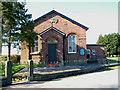 SJ8775 : Over Alderley Methodist Church by Geoff Royle