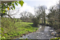 ST0072 : The River Thaw beside Howe Mill near The Herberts - Cowbridge by Mick Lobb