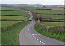 SX1553 : This way for Lanreath by roger geach