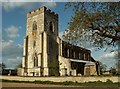 TL3855 : St. Mary: the parish church of Comberton by Robert Edwards