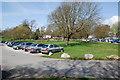 SX5255 : Saltram House Car park by jeff collins