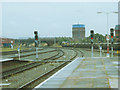 SJ4166 : Railway lines east of Chester station by Stephen Craven