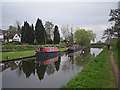 SO8698 : Quiet stroll along the towpath by Row17