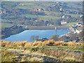 SE0334 : Leeming reservoir, Oxenhope by Rob Bainbridge