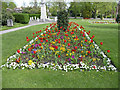 TQ3296 : Floral display, Chase Green, Enfield by Christine Matthews