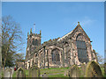 SJ7560 : East end of St Mary's parish church, Sandbach by Stephen Craven