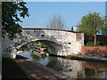 SJ7065 : Canal bridge no. 169, Middlewich by Stephen Craven