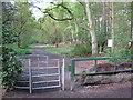 SU9068 : Swinley Park Entrance by don cload