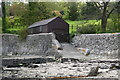 SW8238 : Private Boat House and Slipway at Loe Beach by Graham Loveland