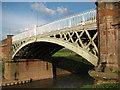 SO8352 : New Bridge, Powick by Philip Halling