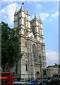 TQ3079 : Western entrance, Westminster Abbey, Broad Sanctuary SW1 by Robin Sones