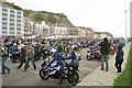 TQ8109 : Motorbikes at Hastings May Day Run 2009 by Oast House Archive