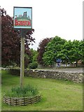 TQ9047 : Egerton Village Sign by David Anstiss