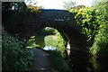 SJ9600 : Pool Hayes Bridge on Wyrley & Essington Canal by Row17
