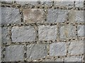 SP8710 : Detail of Church Wall, St Michael's, Halton by Chris Reynolds