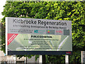 TQ4075 : Signs of regeneration - Kidbrooke by Stephen Craven