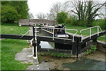 SU2462 : Crofton Top Lock by Graham Horn