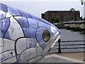 J3474 : A big fish, Belfast by Kenneth  Allen