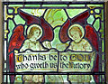 TM2148 : Stained glass, St Mary's Church : Week 20