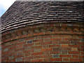 TQ8143 : Eaves Detail on Oast House at Place Farm by Oast House Archive