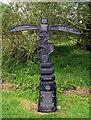 J1386 : Millennium Milepost near Antrim by Rossographer