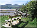 SH6515 : Seat on the Mawddach Trail by E Gammie