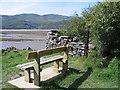 SH6515 : Seat on the Mawddach Trail by E Gammie