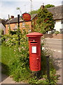 ST8210 : Shillingstone: postbox № DT11 92, Blandford Road by Chris Downer