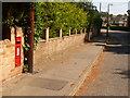 SZ0096 : Broadstone: postbox № BH18 42, Lower Golf Links Road by Chris Downer