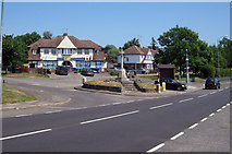 TQ7254 : Former Trolley Bus Terminus, East Barming by Oast House Archive