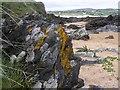 C5449 : Jaggy rock, Culdaff by Kenneth  Allen