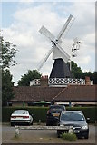 TQ2372 : Wimbledon Common - Windmill by Peter Trimming