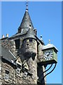 NT2673 : Canongate Tolbooth clock by kim traynor