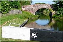 SU4366 : Benham Bridge from Benham Lock by Graham Horn